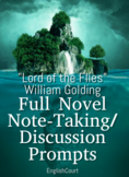 Lord of the Flies Note and Discussion Prompts