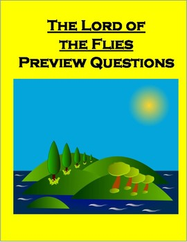 Lord of the Flies Novel Preview Questions