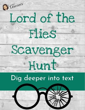Lord of the Flies Novel Scavenger Hunt