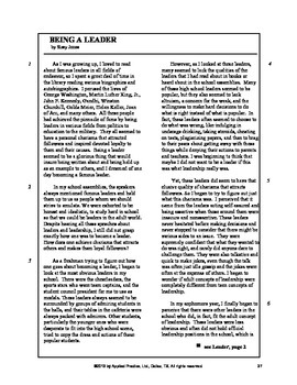 Lord of the Flies Paired Passage English Skills Worksheet