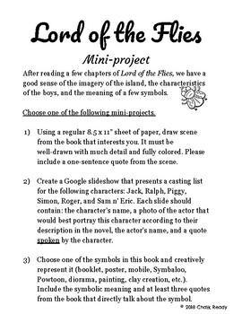 Lord of the Flies Project