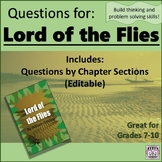 Lord of the Flies - Questions