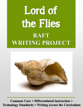 Lord of the Flies RAFT Writing Project