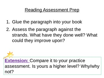 Lord of the Flies - Reading Assessment Prep