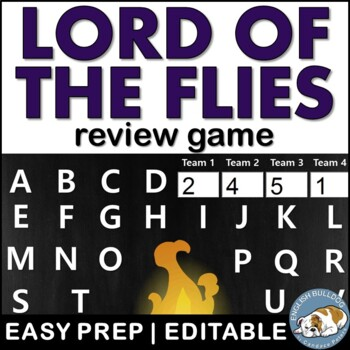 Lord of the Flies Review Game