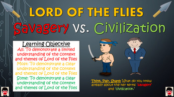 Lord of the Flies: Savagery vs. Civilization