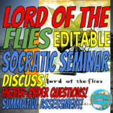 EDITABLE - Lord of the Flies Socratic Seminar Discussion