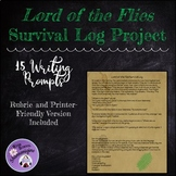 Lord of the Flies Survival Log Writing/Researching Project