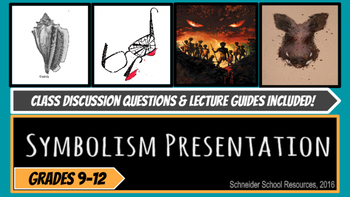Lord of the Flies Symbolism Presentation and Lecture Guide