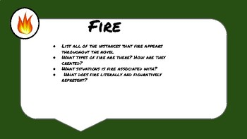 Lord of the Flies Symbolism Task Cards