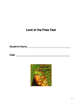 Lord of the Flies Test