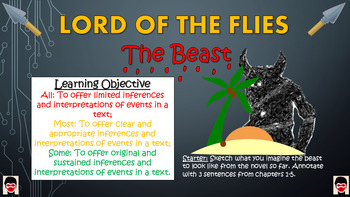 Lord of the Flies - The Beast