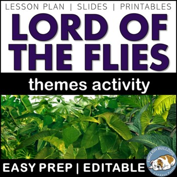 Lord of the Flies Themes Textual Analysis Activity