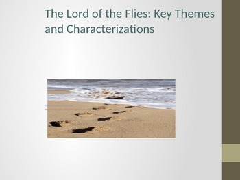 Lord of the Flies Themes and Characters PowerPoint