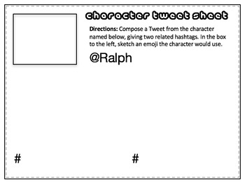 Lord of the Flies Twitter-Style Activity: Bell-Ringers, Quizzes, Task Cards