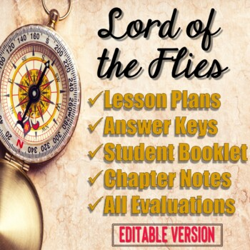 Lord of the Flies Unit EDITABLE