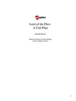 Lord of the Flies Unit Lesson Plan