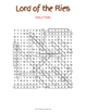 Lord of the Flies Word Search Puzzle