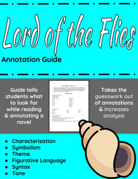 Lord of the Flies annotation assignment