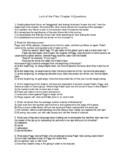 Lord of the Flies Chapter 9 Questions