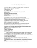 Lord of the Flies Chapter 8 Questions