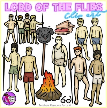 Lord of the Flies clip art