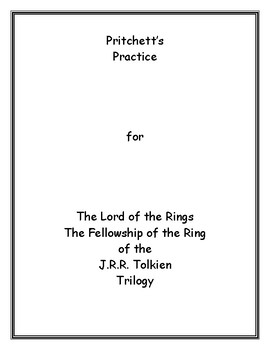 Lord of the Rings The Fellowship of the Ring Archetypal Lesson Plan Study Guide