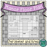 Lord's Manor Floor Plan: A Perimeter and Area Freebie