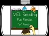 "Lorikeet Learning - ""at"" family - Unit 7"