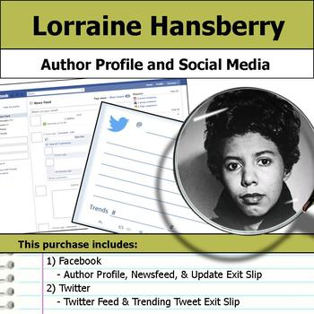 Lorraine Hansberry - Author Study - Profile and Social Media