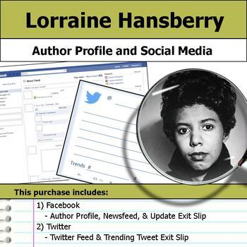 Lorraine Hansberry - Author Study - Profile and Social Media