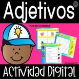 Los Adjetivos - Google Slides™ - Adjectives in Spanish - D