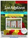 Los Adjetivos- Spanish Back to School Adjectives Activities    Grades 2-4 SL, S