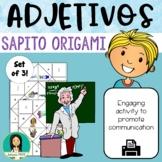 Los Adjetivos / Spanish adjectives Fortune Teller Origami