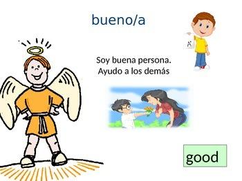 Los Adjetivos in Spanish.