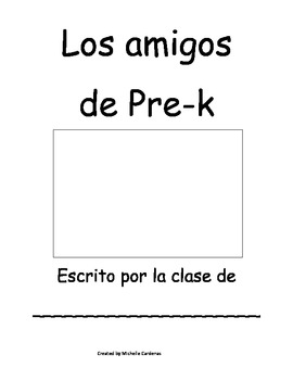 Los Amigos- Back to school Classbook Printable