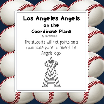 Los Angeles Angels Logo on the Coordinate Plane