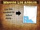 Los Angeles Map Activity - fun, engaging, follow-along 25-