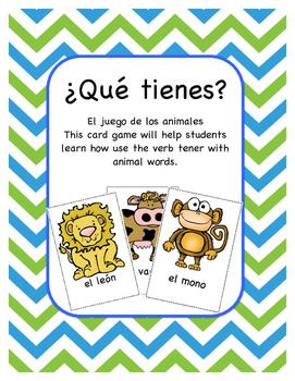 Los Animales - Card Game