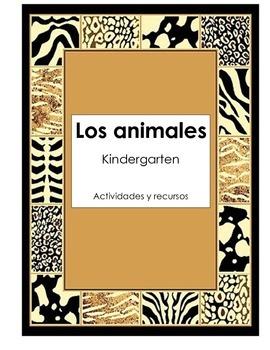 Los Animales - Spanish Science Unit Activities