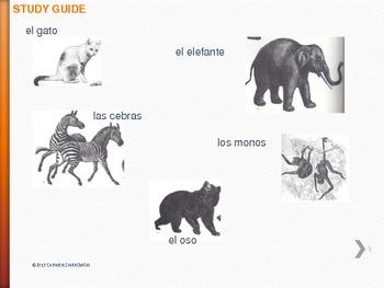 Los Animales UNIT 1