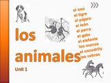 Los Animales UNIT 1