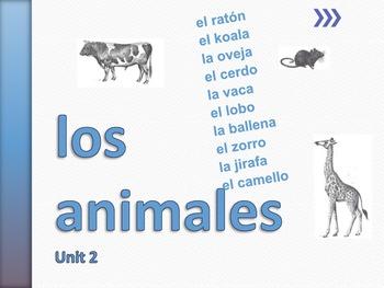 Los Animales Unit 2