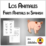 Farm Animals in Spanish - Los Animales de la Granja - Acti