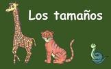 Los Animales de la Selva: PowerPoint Los Tamaños y comparativos