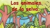 Los Animales de la Selva: PowerPoint ¿Qué ves?