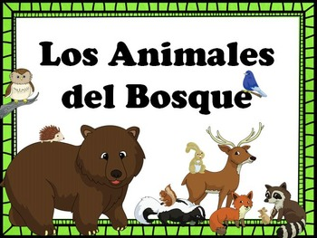 Los Animales del Bosque PowerPoint