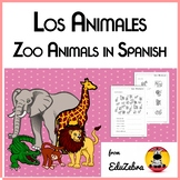 Los Animales del Zoo - Zoo Animals in Spanish - Activity Pack