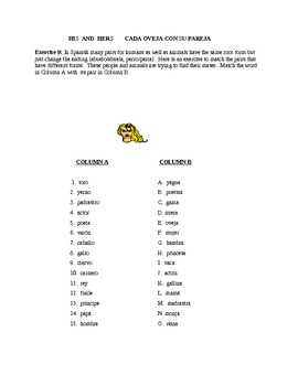 Los Animales  (revised)