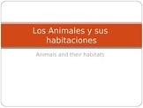 Los Animales y Sus Habitaciones (Animals and habitats)